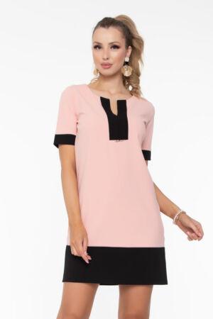 Rubin ruha - púder/fekete