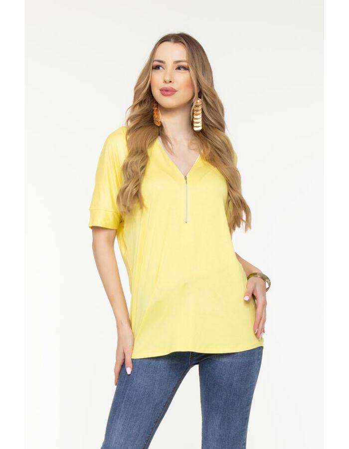Oxána tunika - sárga