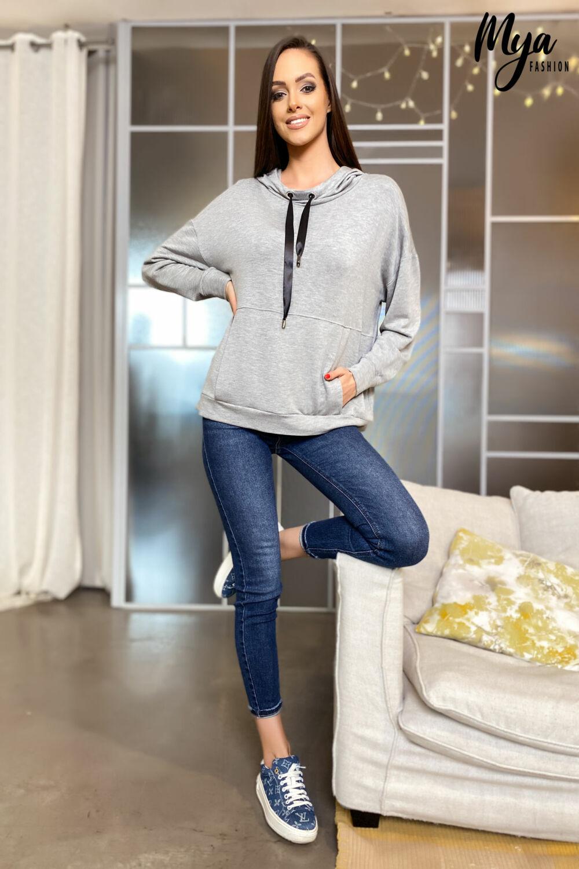 Vienna pulóver - szürke