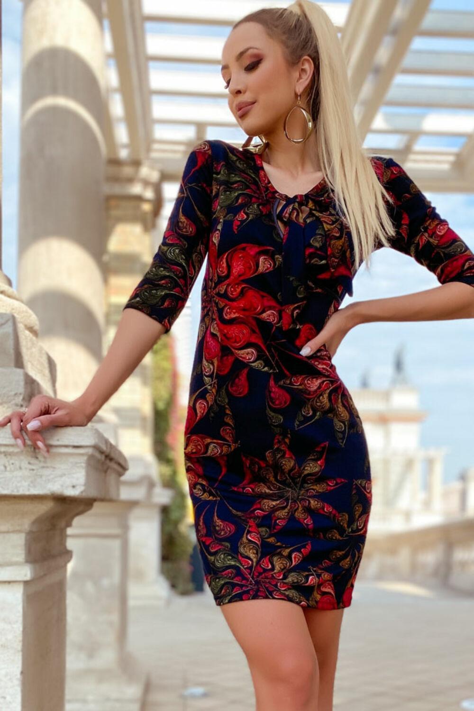 Karmen ruha - fekete/piros