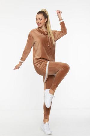 Gitta pulóver - Karamell